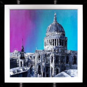 City Hues Simon Wright Framed