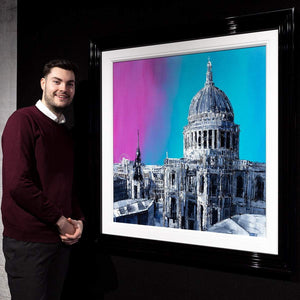 City Hues - Original Simon Wright Framed