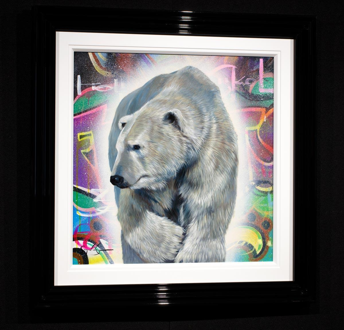 Cold As Ice - Original Simon Wright Framed