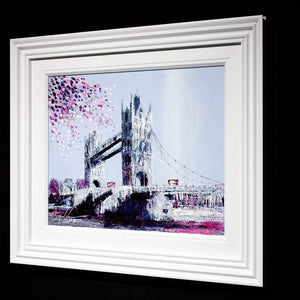 Indigo Sky - Original Simon Wright Framed