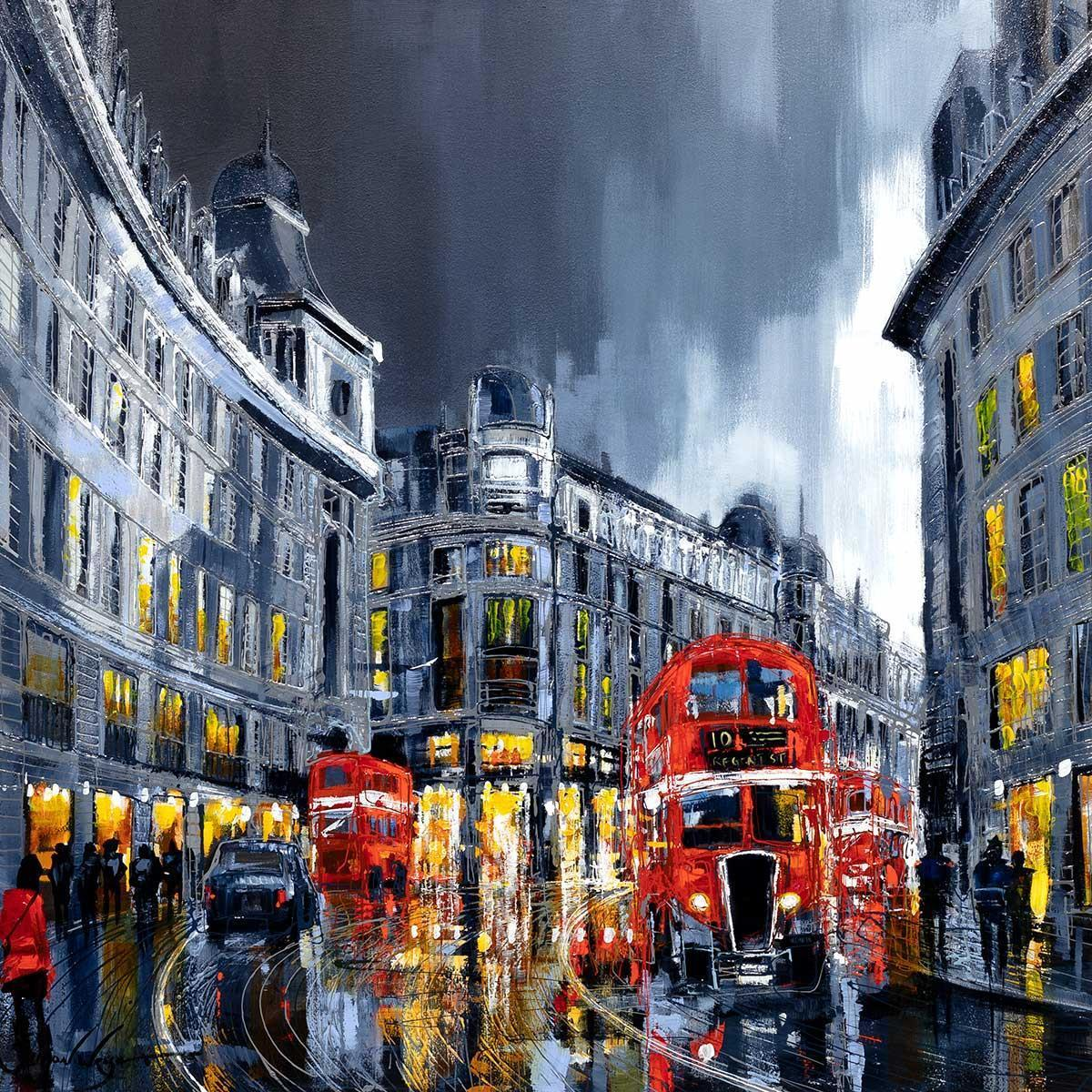 Lights of London - Original - SOLD