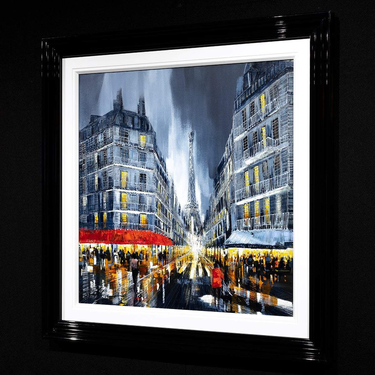 Meet Me In Paris - Original Simon Wright Framed
