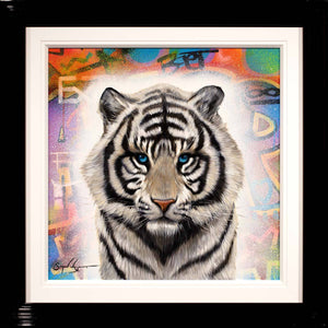 New Cub on the Block - Original Simon Wright Framed