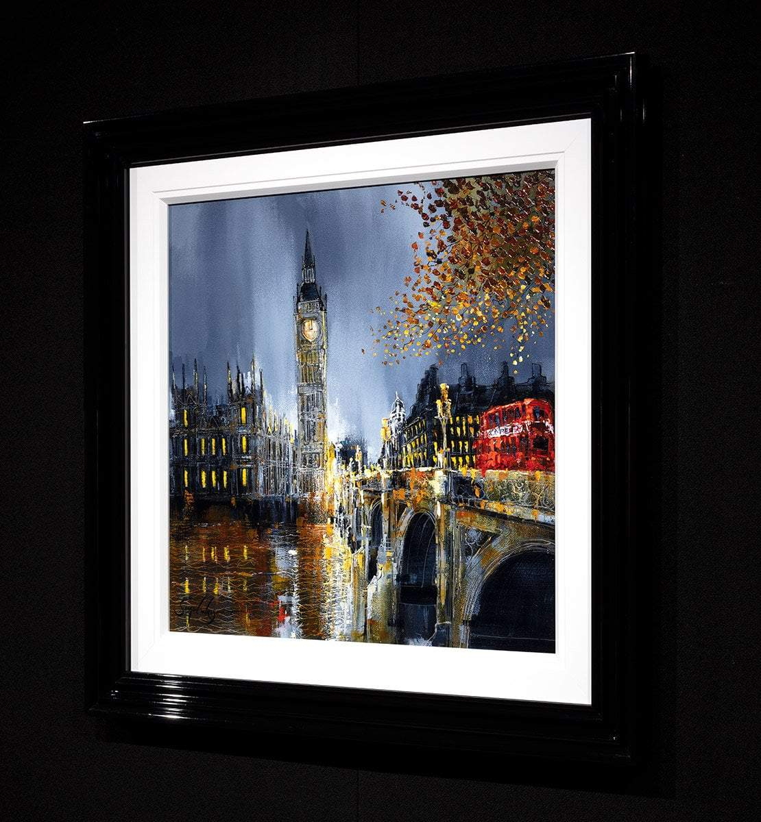 Night After Night - Original Simon Wright Framed