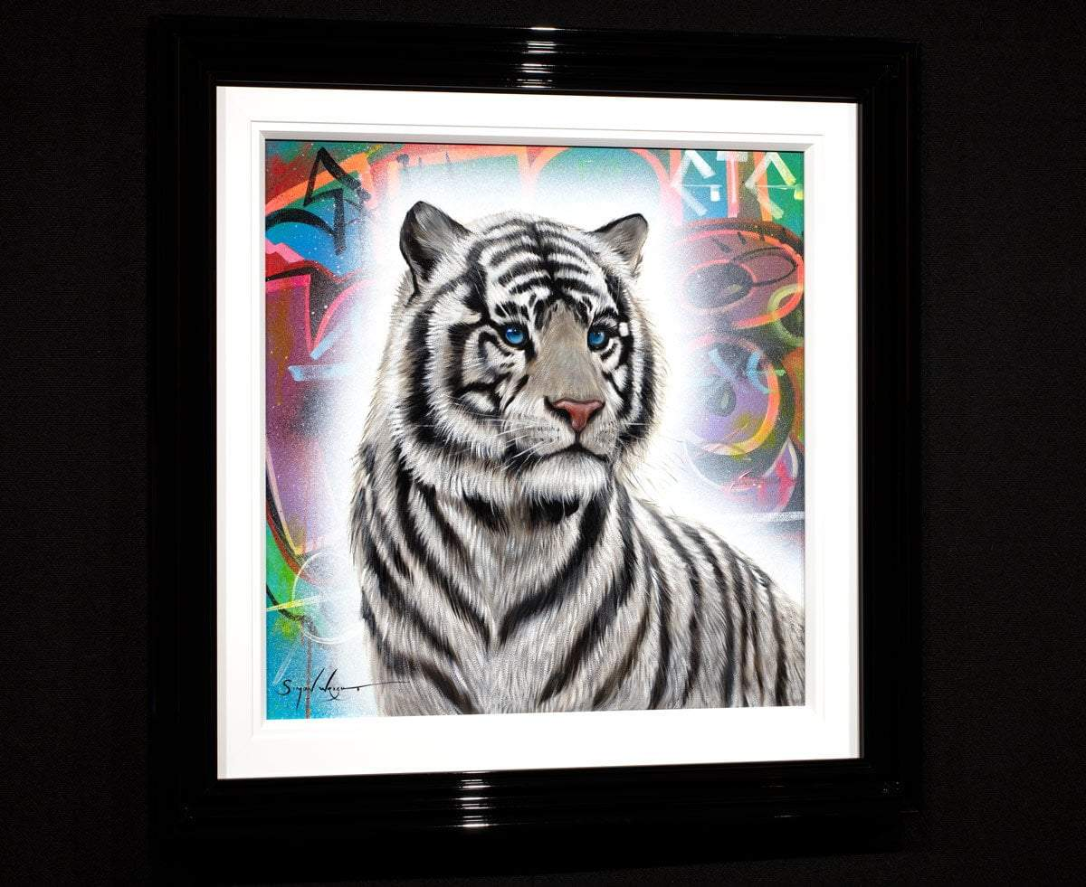 Panthera Simon Wright Framed