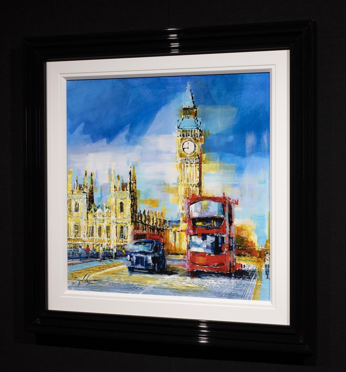 Summer In The City Simon Wright Framed