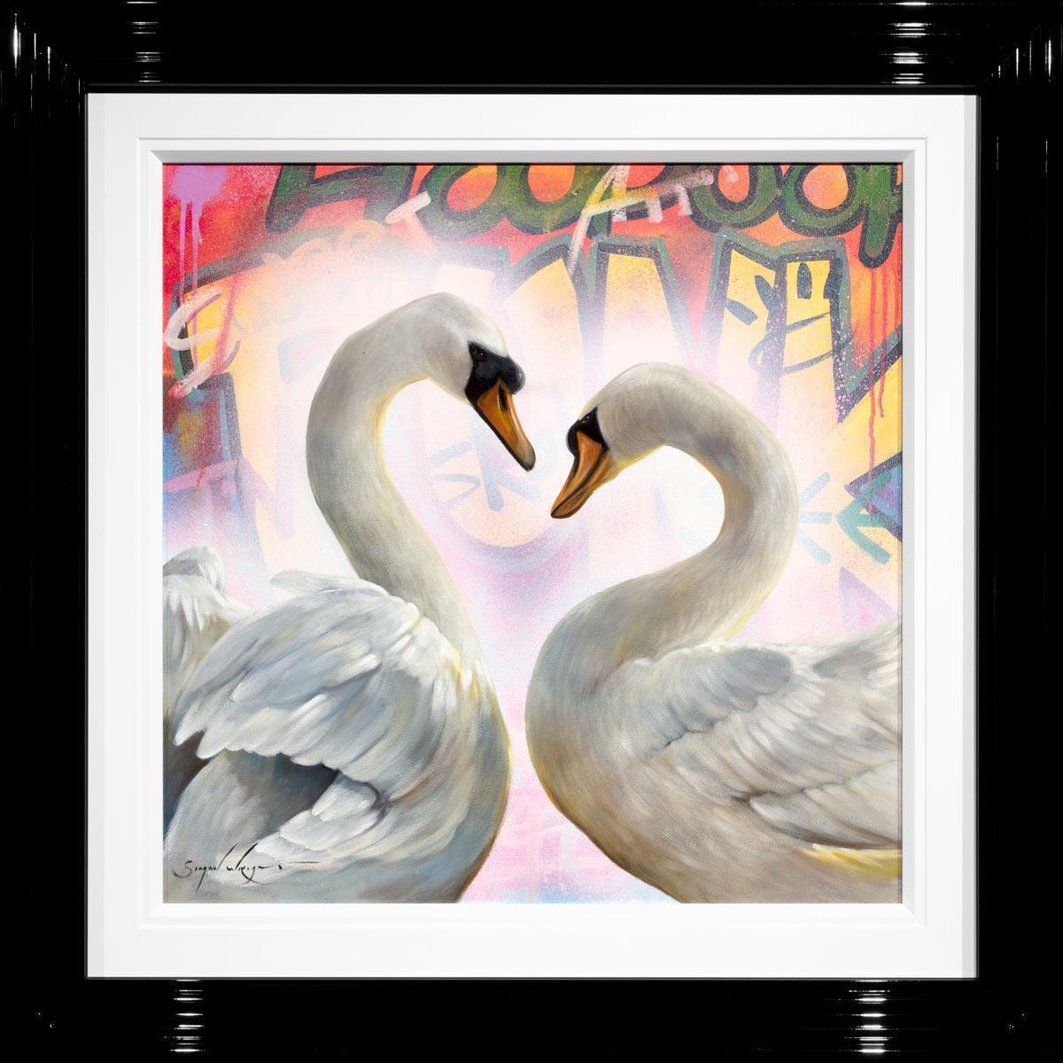 Swan Song Simon Wright Framed