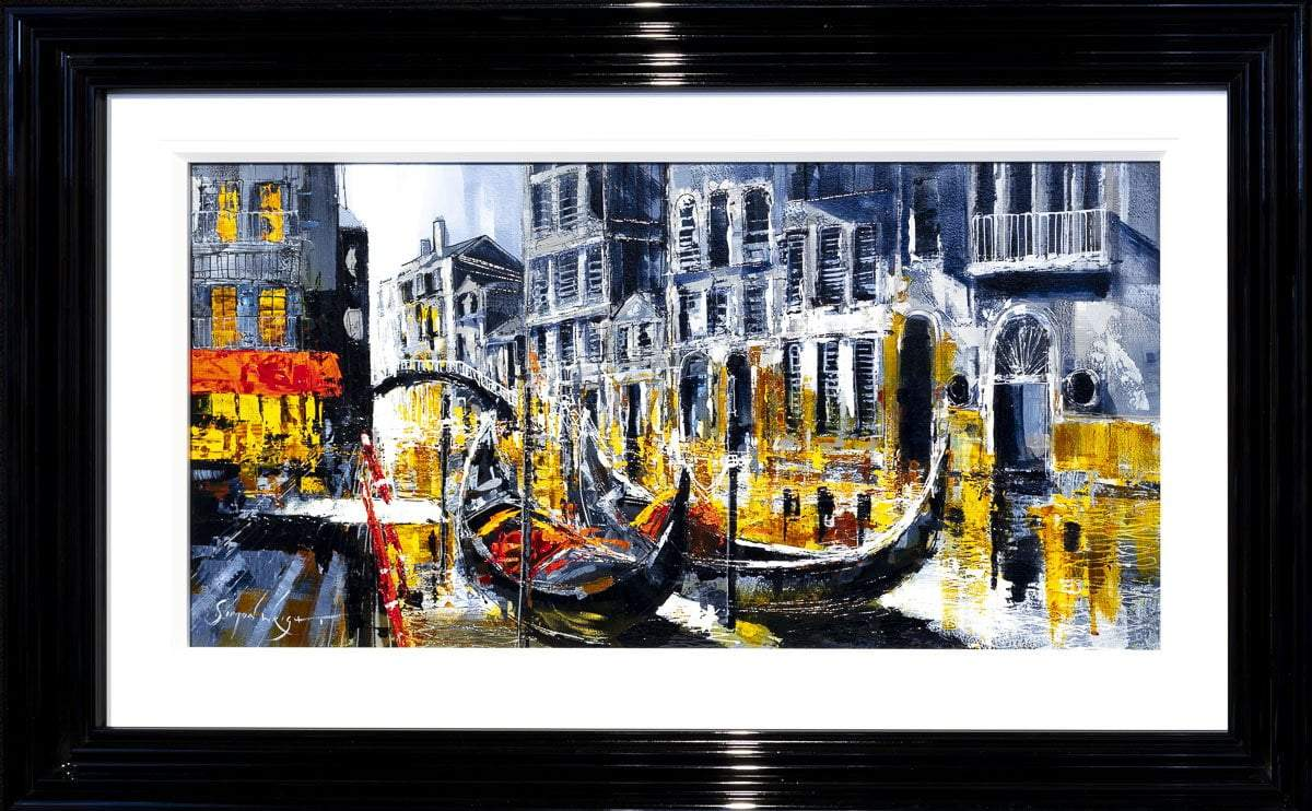 The City on Water - Original Simon Wright Framed