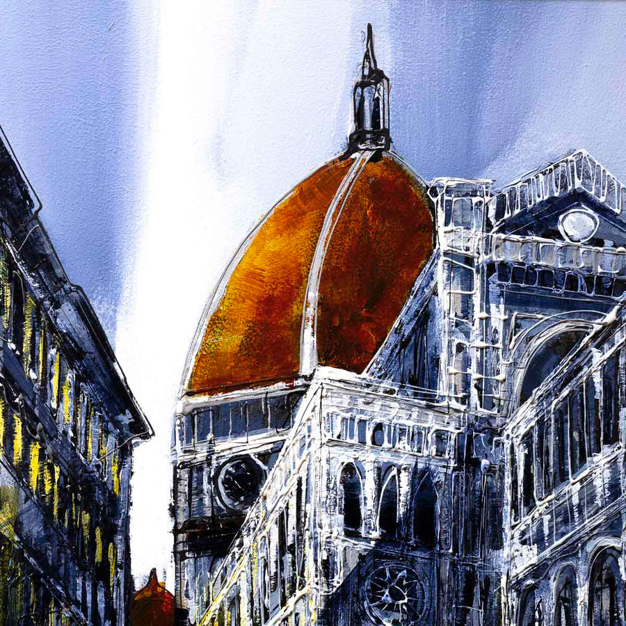 The Duomo - Orignal Simon Wright Framed