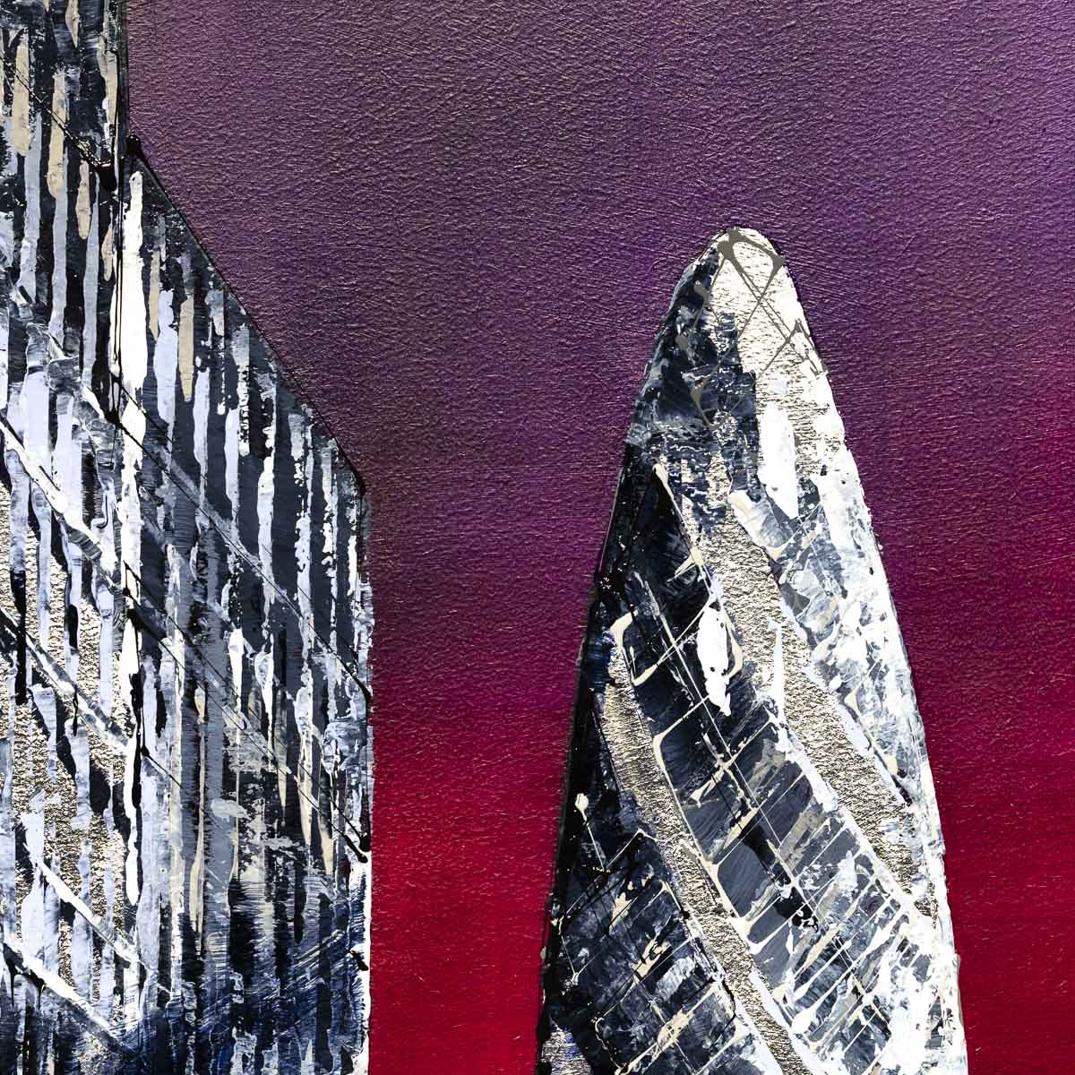 The Gherkin - Original Simon Wright Framed