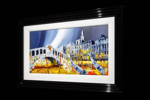 The Glow of Venice Simon Wright Framed