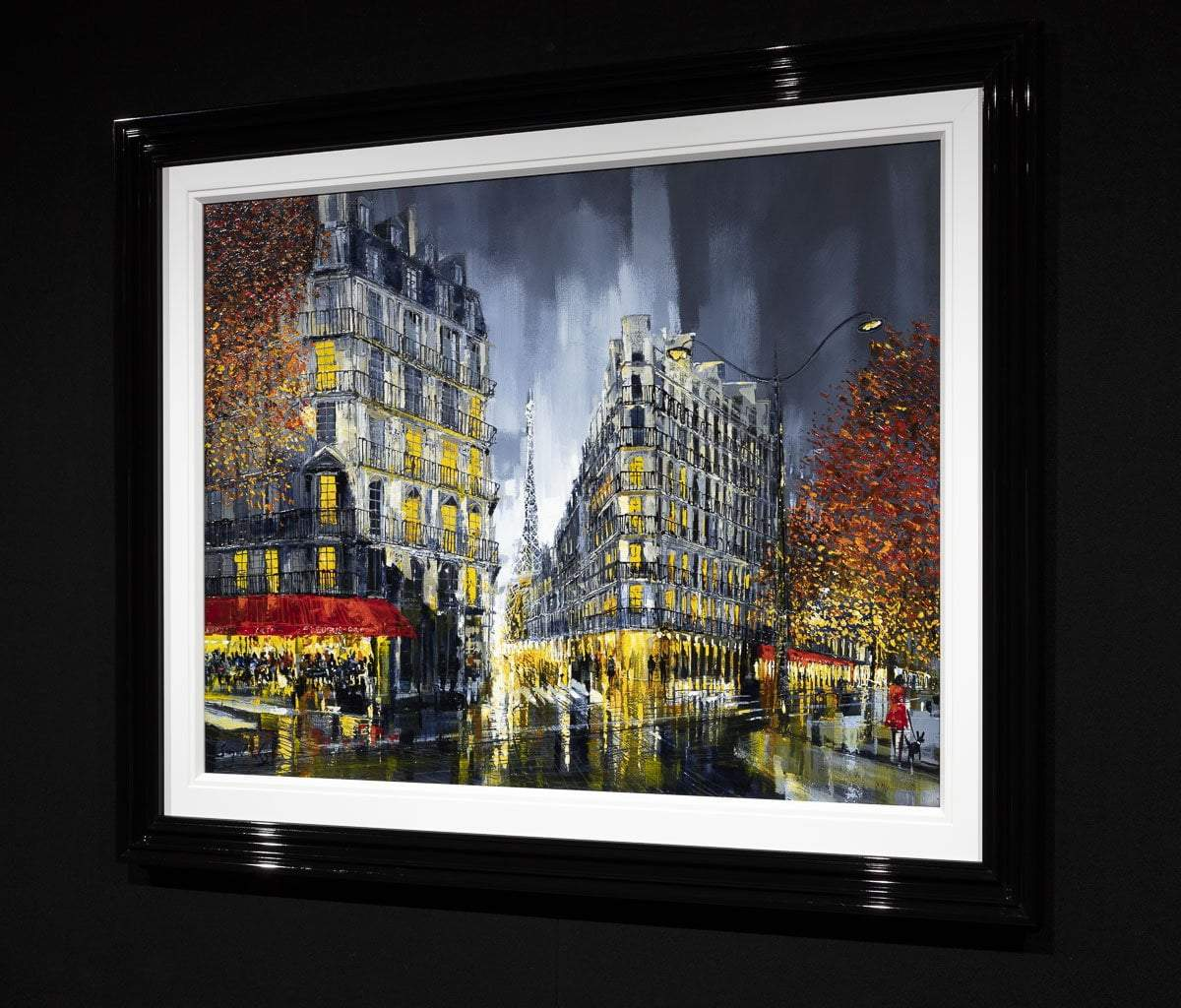 We'll Always Have Paris - Original Simon Wright Framed