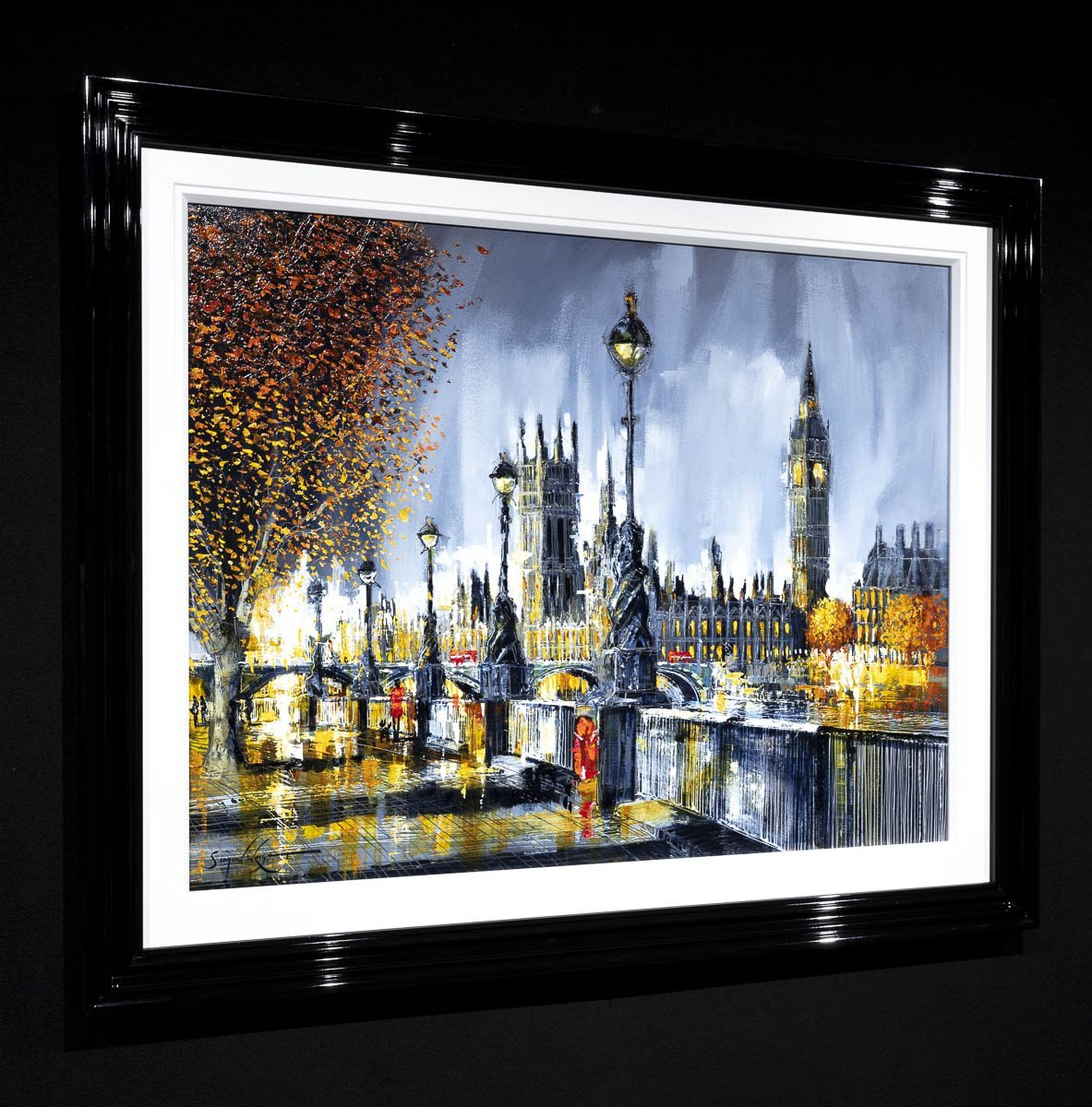 Wonders of London - Original Simon Wright Framed