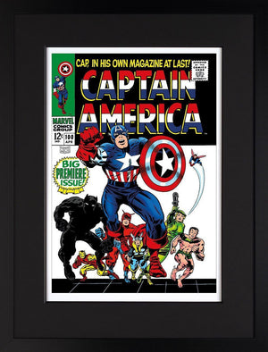 Captain America #100 - Big Premiere Issue! Stan Lee
