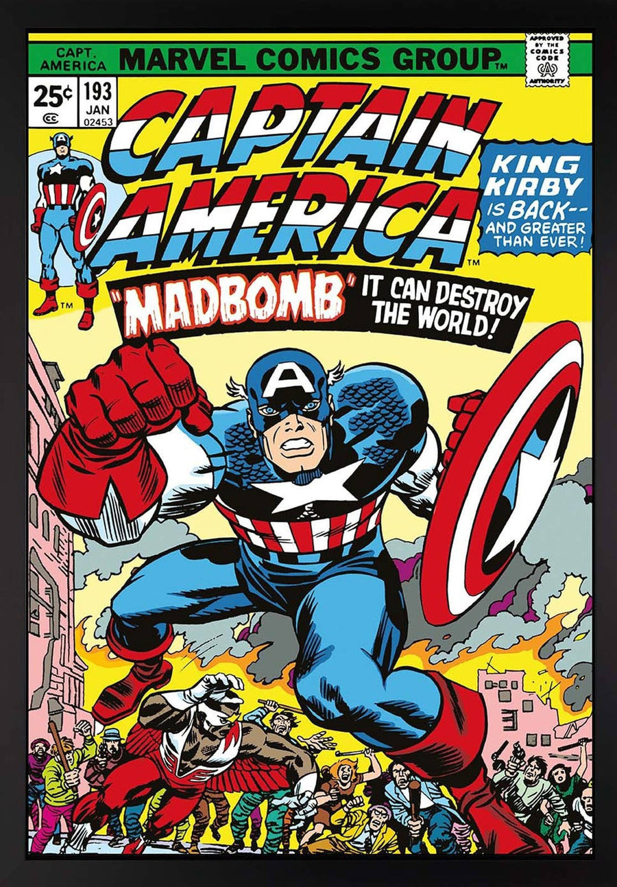 Captain America #193 - Madbomb Stan Lee
