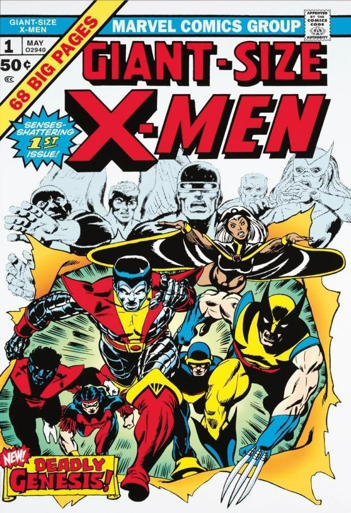 Giant Size X-Men #1 - SOLD OUT Stan Lee