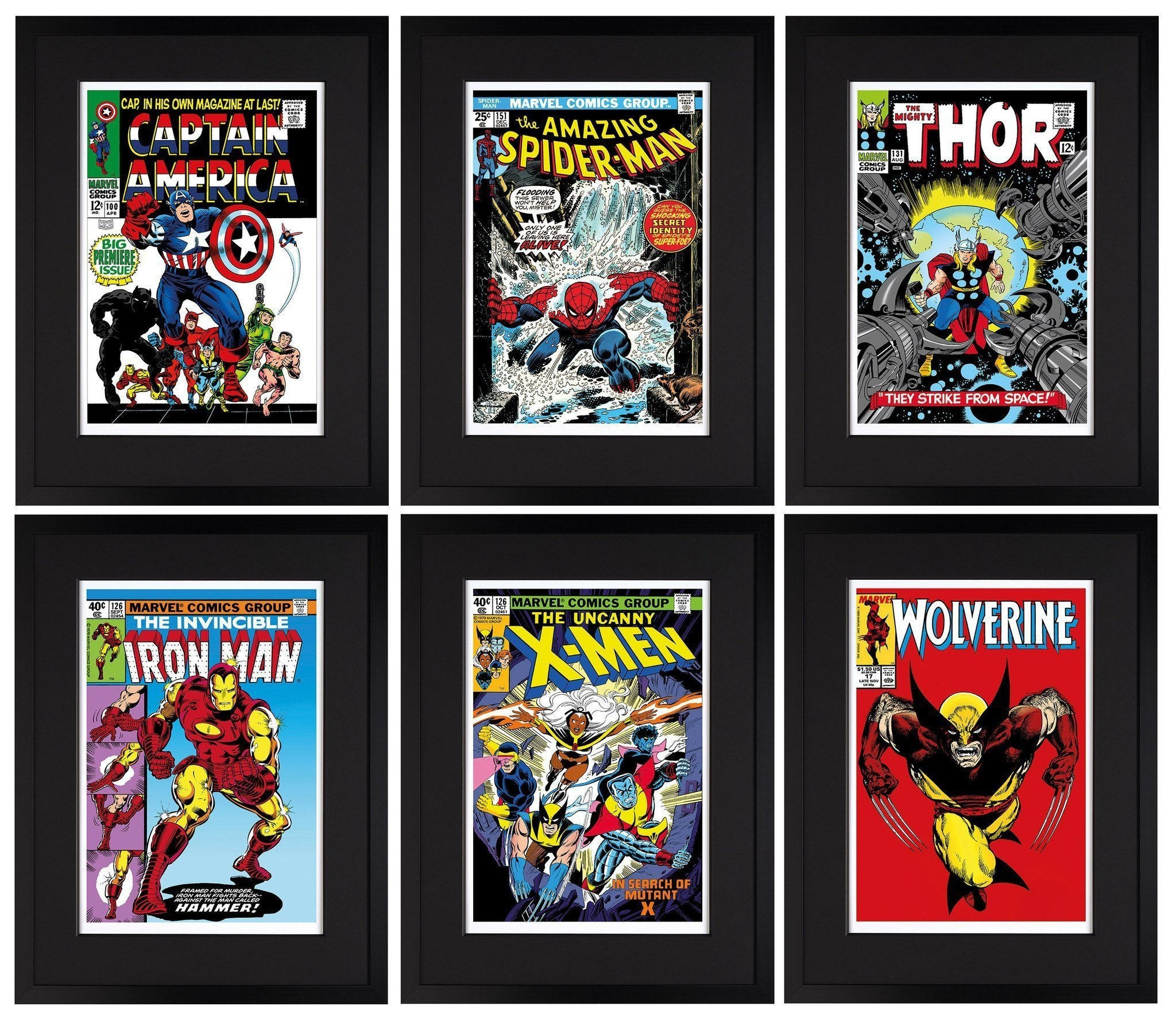 Marvel Superheroes 2015 - Set of 6 Editions Stan Lee