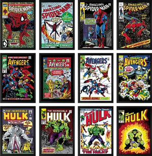 Marvel Superheroes - Set of 12 Editions - ONLY 1 REMAINING Stan Lee