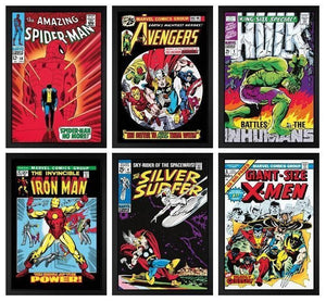 Marvel Superheroes - Set of 6 Editions - SOLD OUT Stan Lee