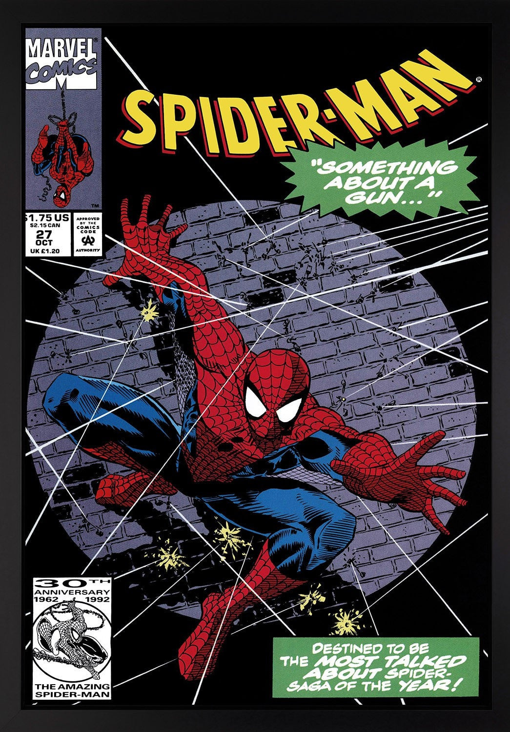 Spider-Man #27 - Something About A Gun… - RARE Stan Lee