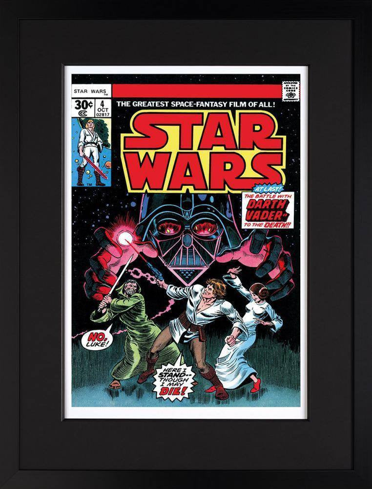 Star Wars #4 - In Battle with Darth Vader Stan Lee