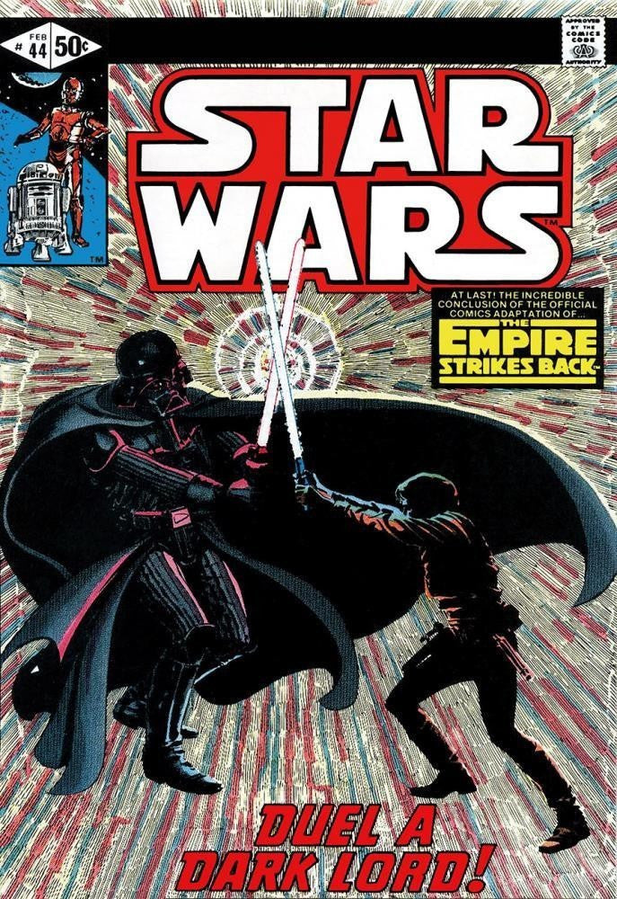 Star Wars #44 - The Empire Strikes Back - Duel A Dark Lord Stan Lee