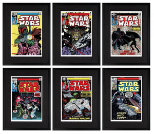 Star Wars Collection - Set of 6 Editions - SOLD OUT Stan Lee