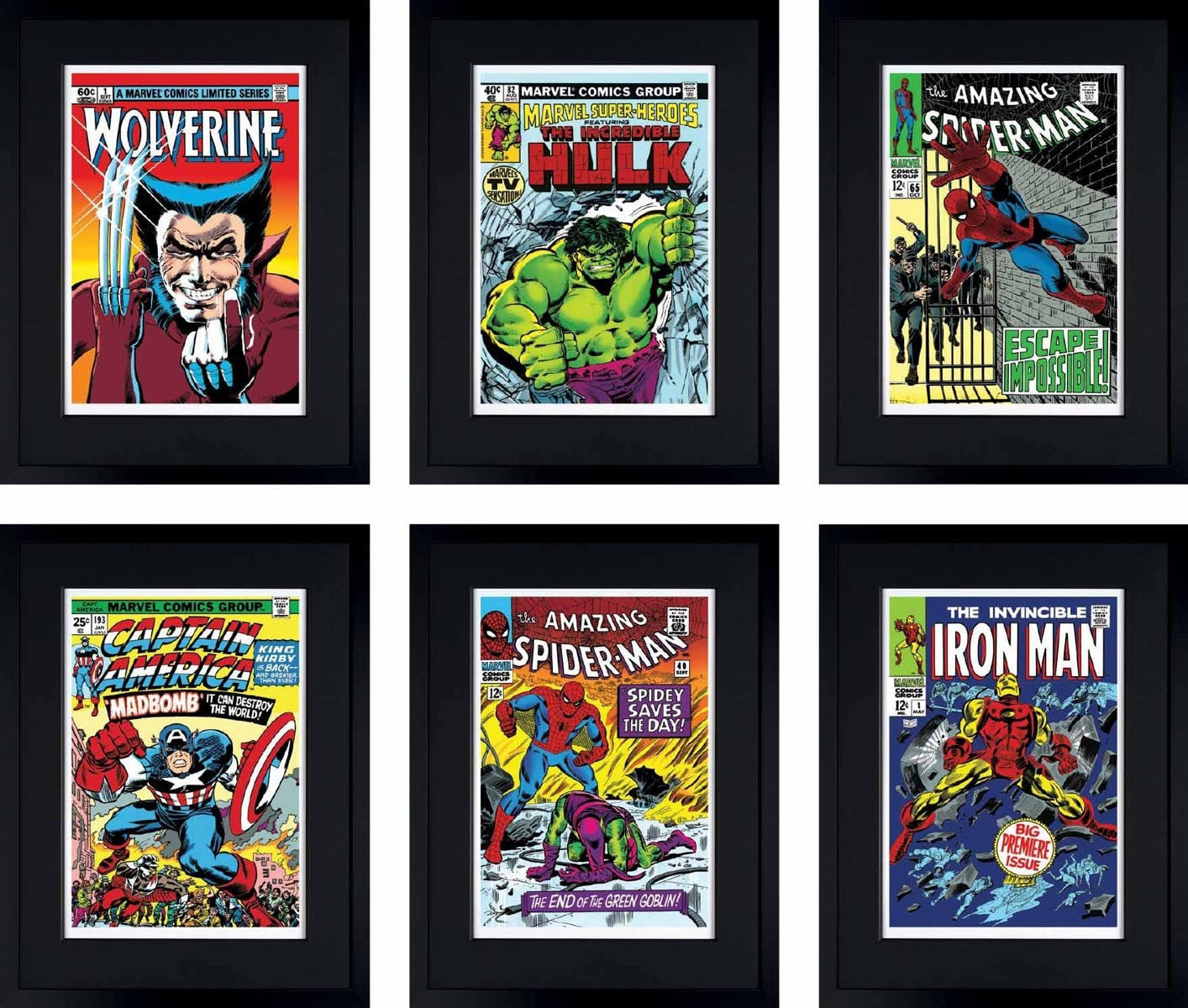 Superheroes 2016 Collection - Set of 6 Editions Stan Lee