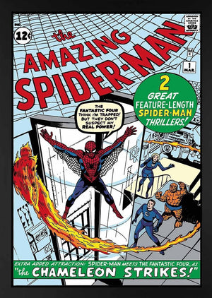 The Amazing Spider-Man #1 - Spider-Man Meets The Fantastic Four Stan Lee