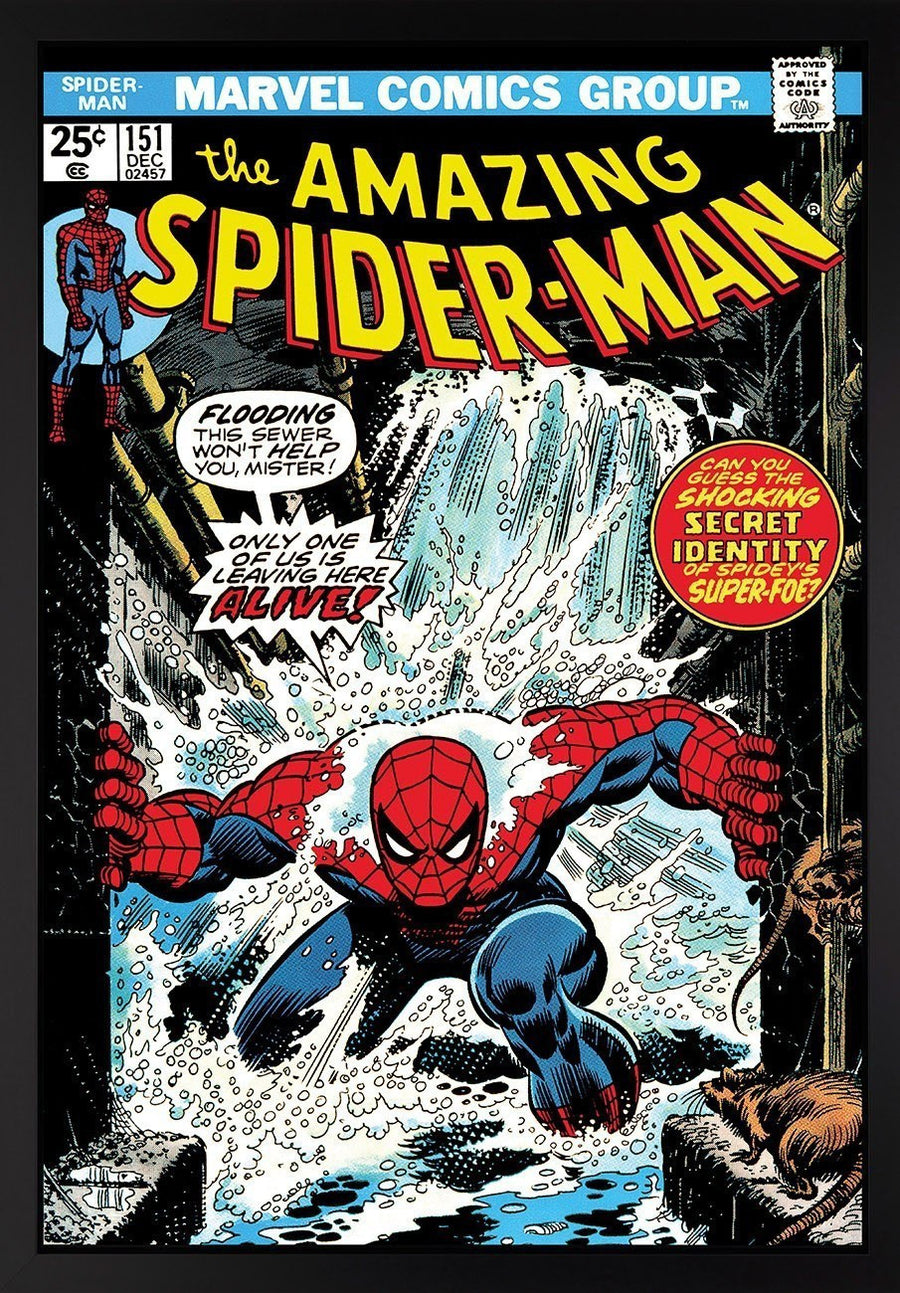 The Amazing Spider-Man #151 - Only One of Us Is Leaving Here Alive! Stan Lee