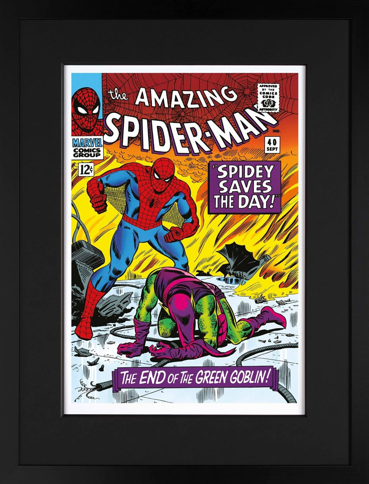 The Amazing Spider-Man #40 - Spidey Saves The Day Stan Lee