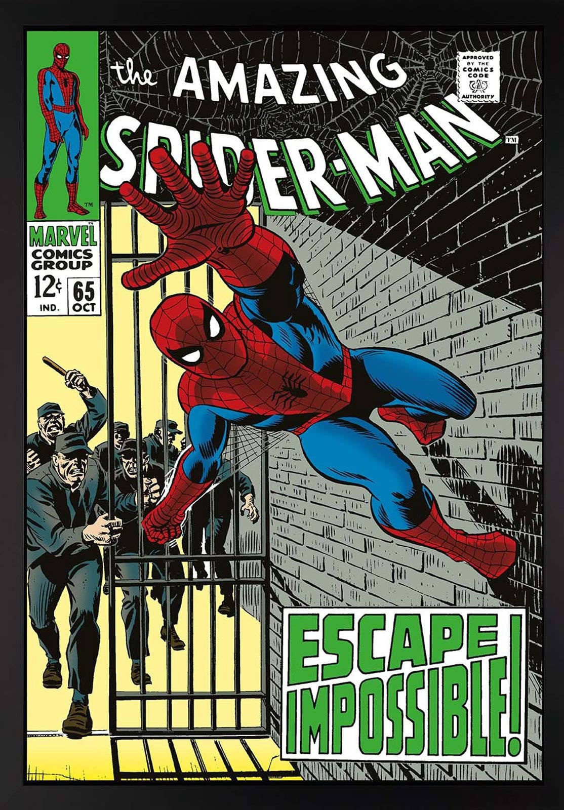 The Amazing Spider-Man #65 - Escape Impossible! Stan Lee