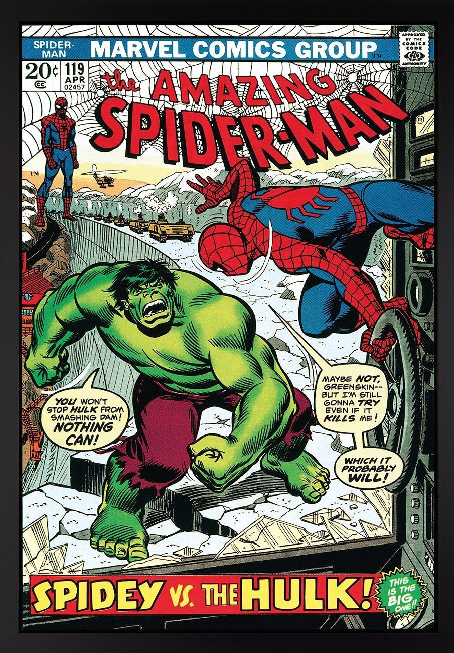 The Amazing Spiderman #119 - Spidey vs The Hulk! - SOLD OUT