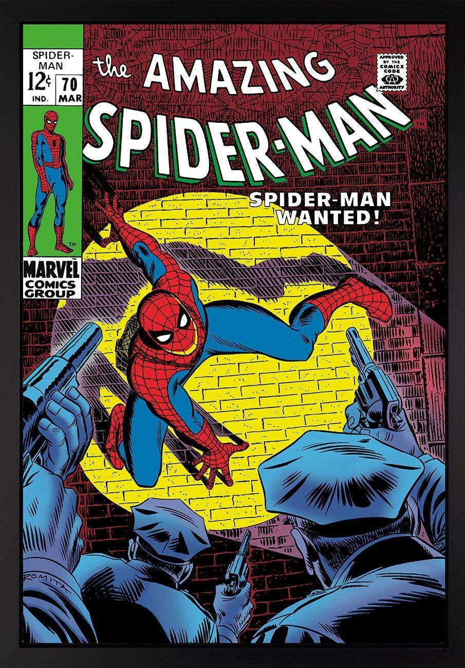 The Amazing Spiderman #70 - Wanted! - SOLD OUT Stan Lee