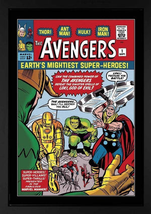 The Avengers #1 - Earth's Mightiest Superheroes! Stan Lee