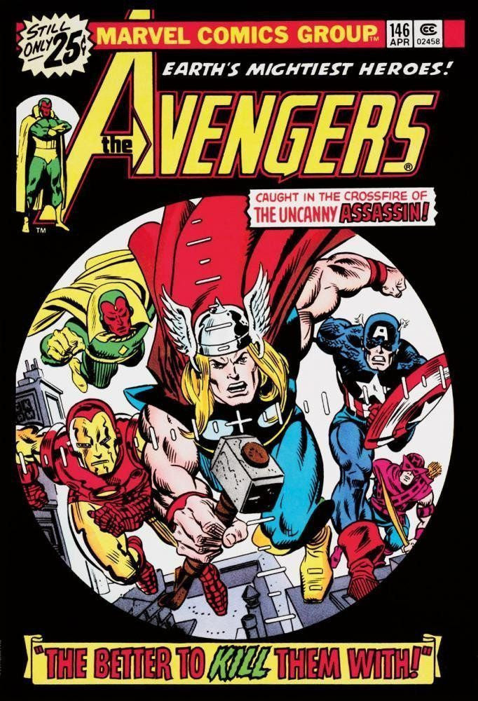 The Avengers #146 - SOLD OUT Stan Lee