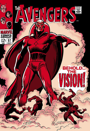 The Avengers #57 - Behold The Vision! Stan Lee