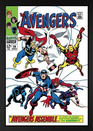 The Avengers #58 - The Avengers Assemble - SOLD OUT Stan Lee