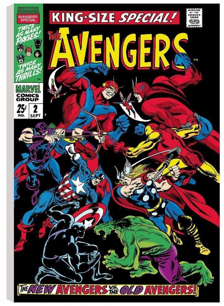 The Avengers - King-Size Special #2 Stan Lee