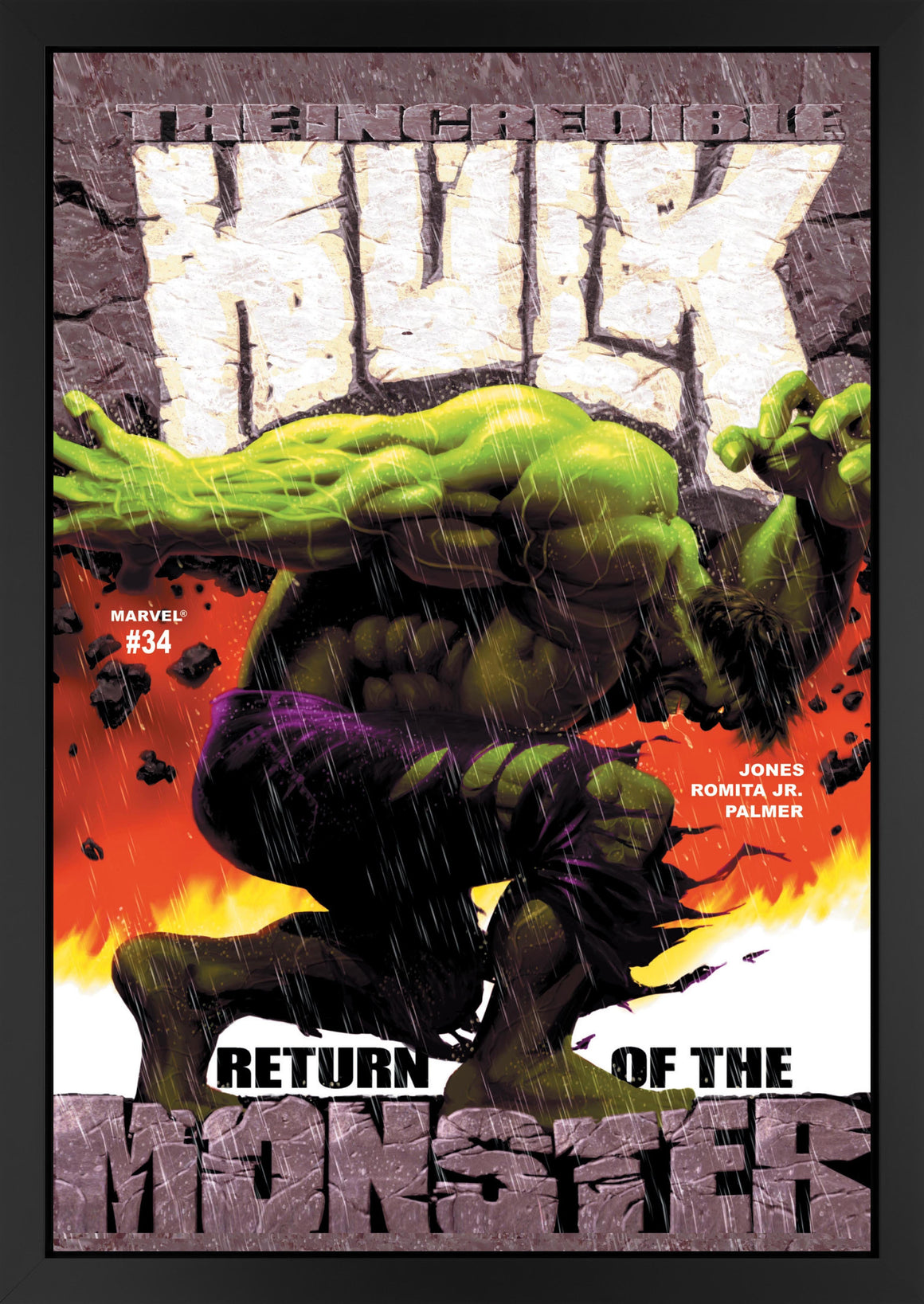 The Incredible Hulk #34 - Return of the Monster - 2017 Stan Lee