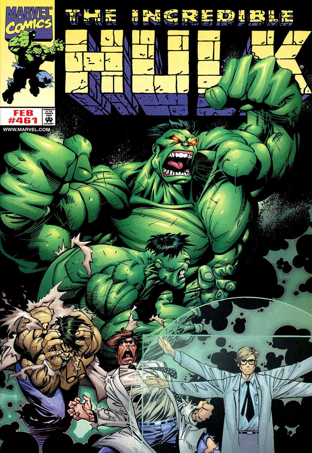 The Incredible Hulk #461 Stan Lee