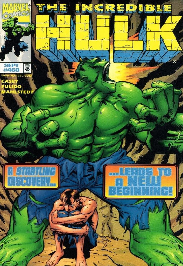 The Incredible Hulk #468 - A Startling Discovery Stan Lee