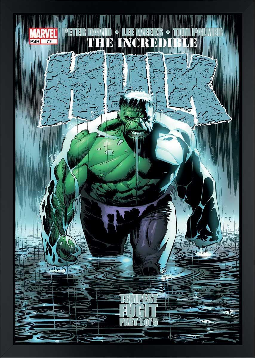 The Incredible Hulk #77 - Tempest Fugit Stan Lee Box Canvas