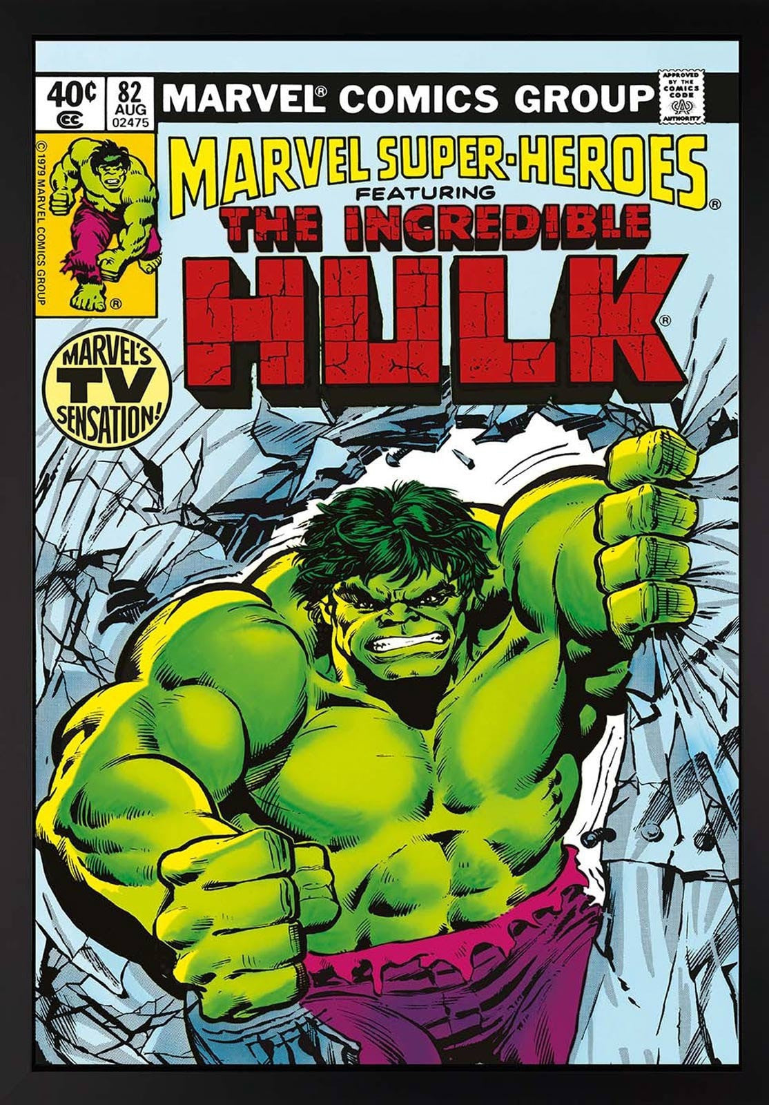 The Incredible Hulk #82 - Marvel's TV Sensation Stan Lee