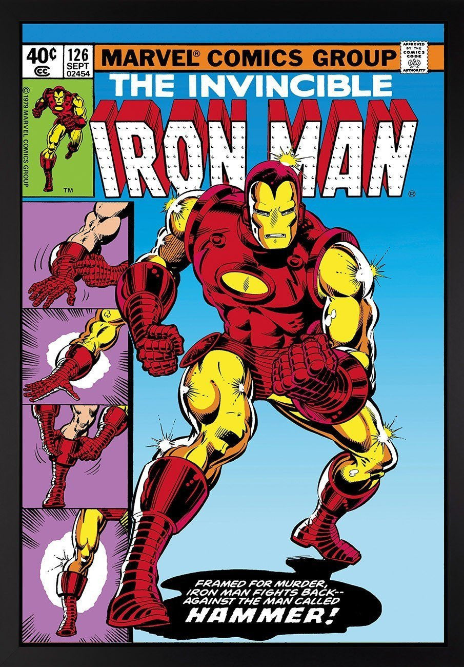 The Invincible Iron Man #126 - Iron Man Fights Back Stan Lee