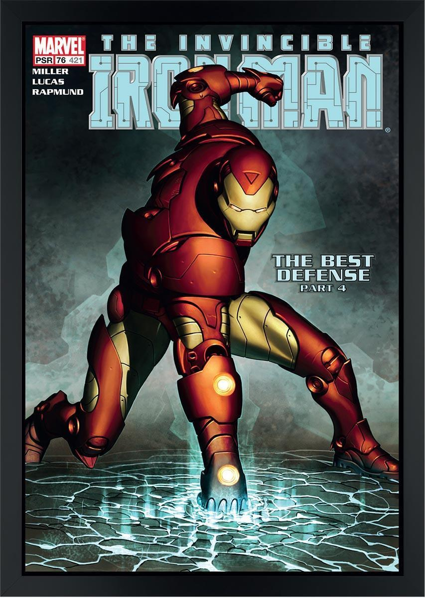 The Invincible Iron Man #421 - The Best Defence Stan Lee Box Canvas