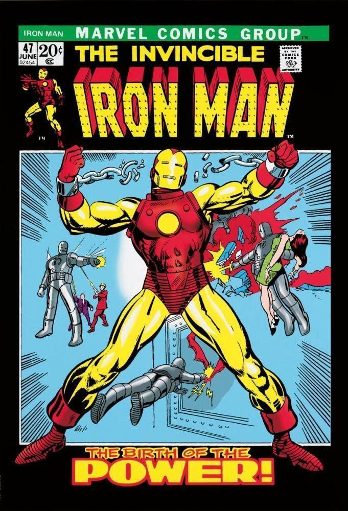The Invincible Iron Man #47 - SOLD OUT Stan Lee