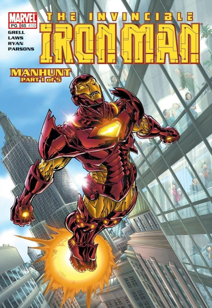 The Invincible Iron Man #65 - Manhunt Stan Lee