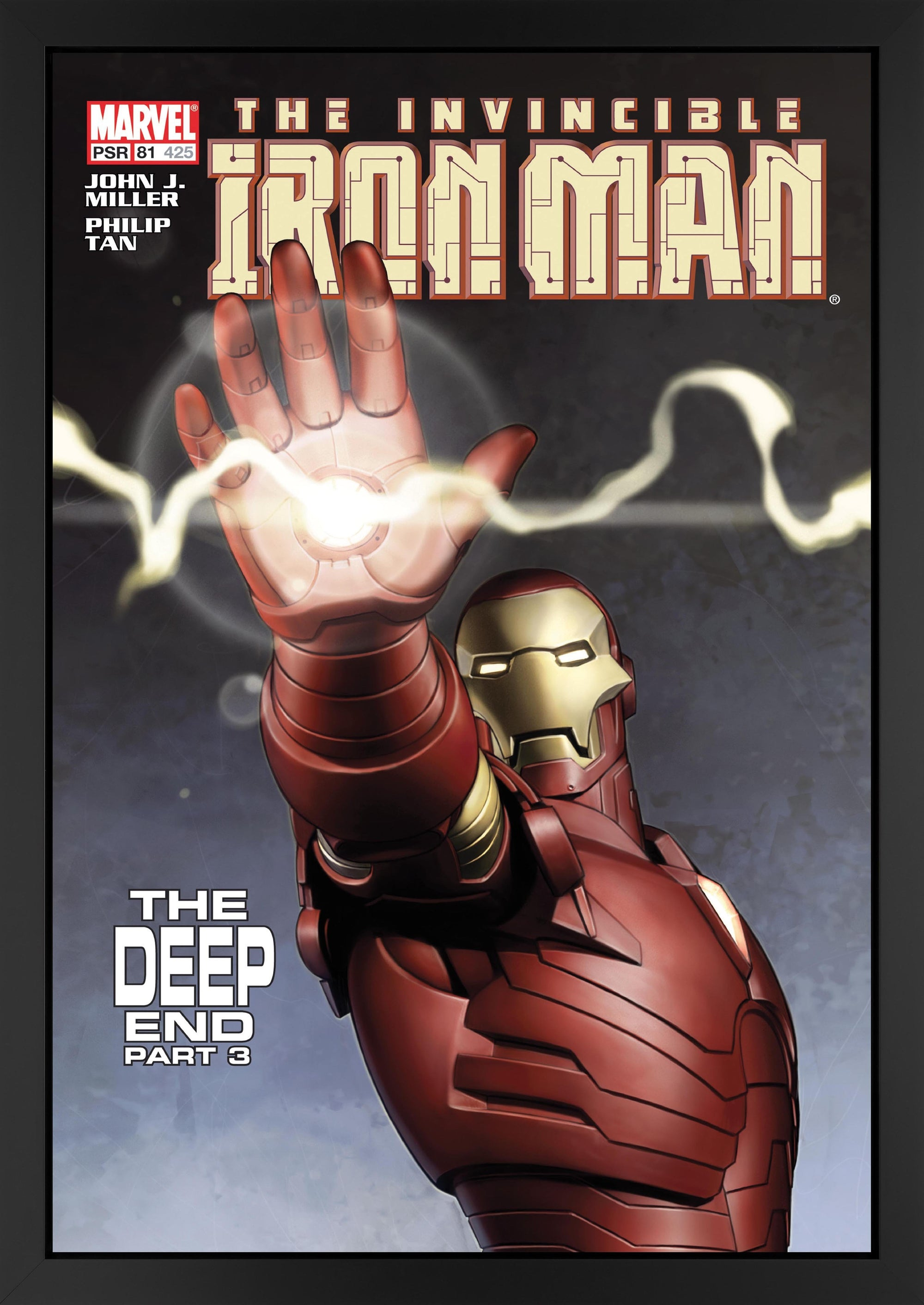 The Invincible Iron Man #81- The Deep End Part 3 - 2017 Stan Lee
