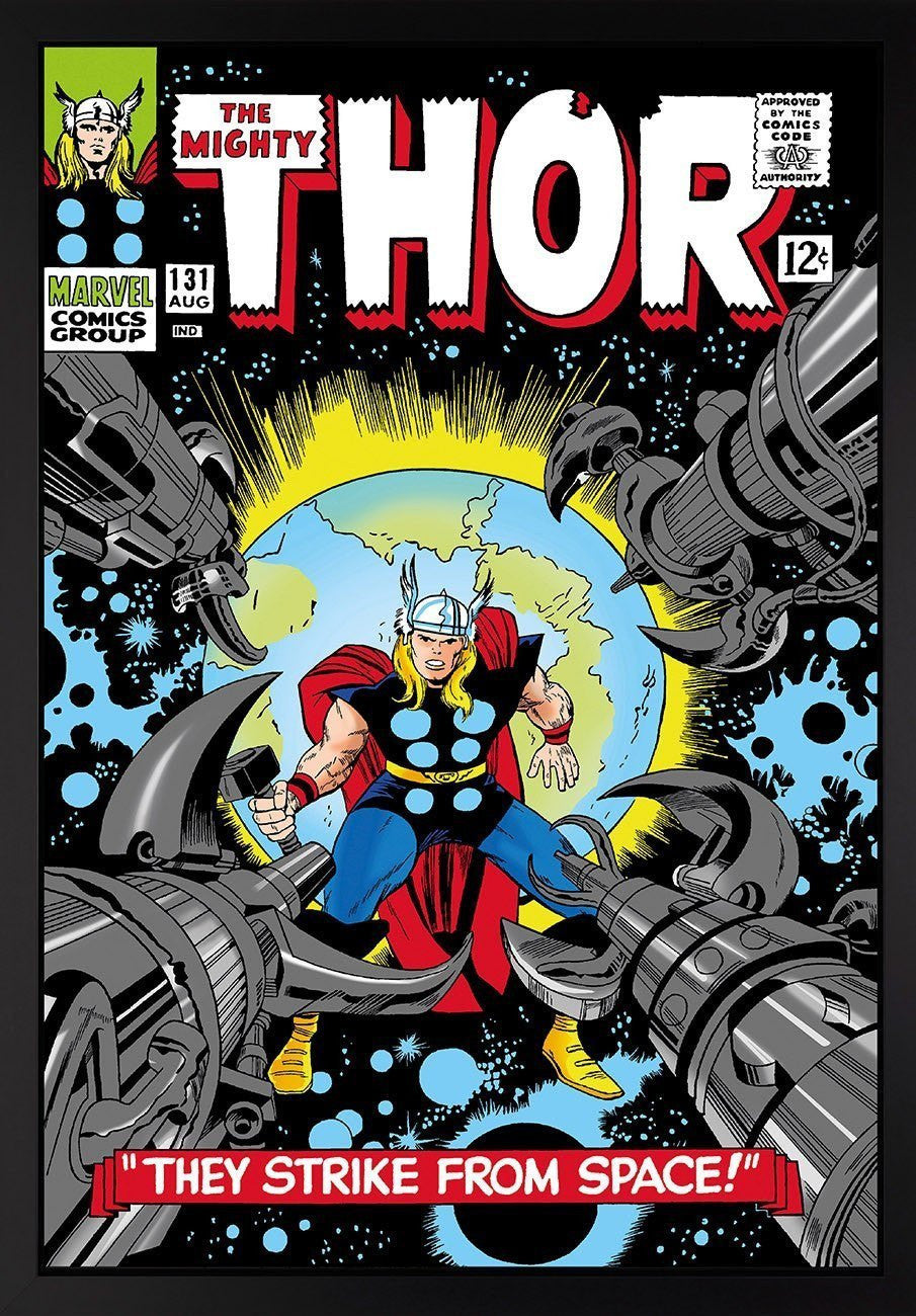 The Mighty Thor #131 - They Strike From Space! Stan Lee